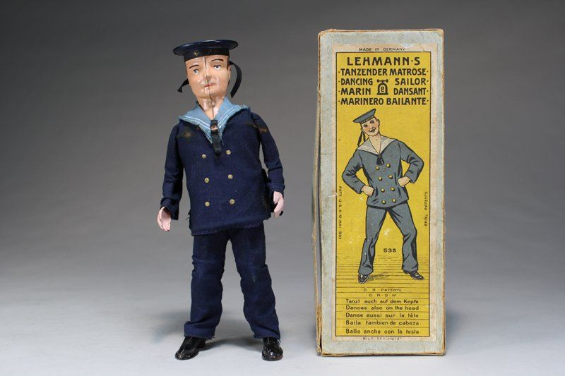 E P Lehmann Germany Circa 1910 Vintage Toys Sailor Old Toys