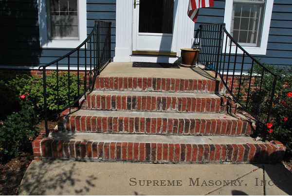 Brick Replacement On Steps