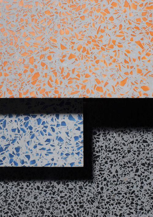 terrazzo project swatches tudes pop up store paris 01 30 june rh pinterest com