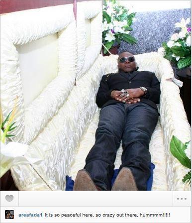 Left Eye Funeral Open Casket Himself Inside His Casket The People