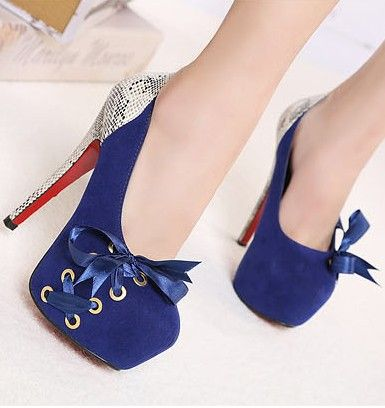 20f8f299071f Women Shoes Bow High Heel Shoes Vdnbmaf Cute Black Bow Knot High Heels  Fashion Shoes On Luulla