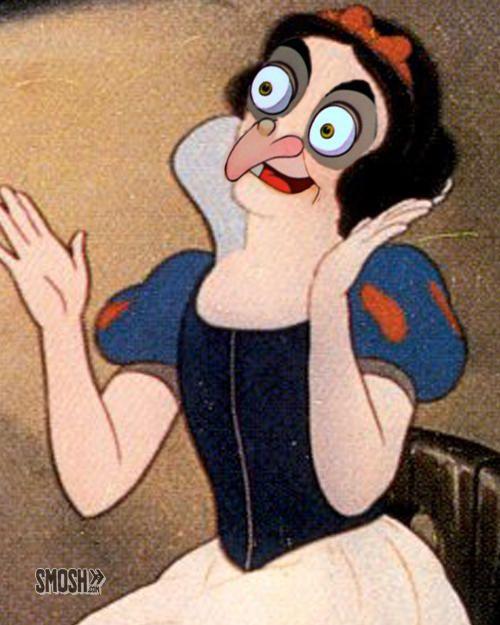 16 Demented Disney Face Swaps   SMOSH