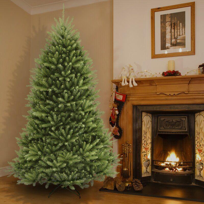 Dunhill Green Fir Artificial Christmas Tree Best Artificial Christmas Trees Unlit Christmas Trees Cool Christmas Trees