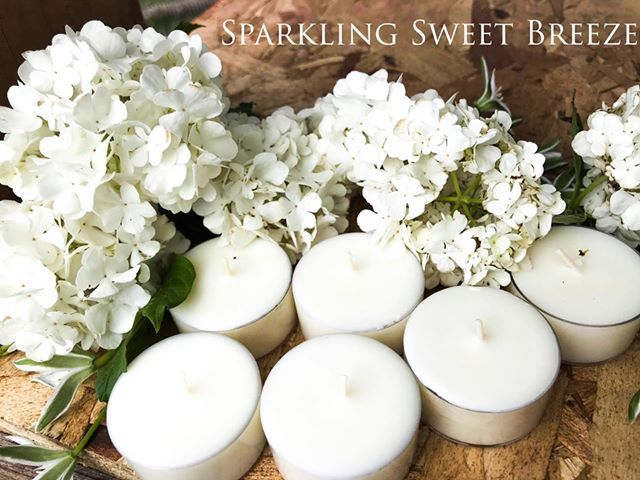 6 hand poured highly scented soy tea lights come in a variety of scents and colors. My tealights are made to order and I use the maximum amount of fragrance oil that the wax will hold so you get the best scent Height is approximately 1 inch and width is approximately 1 1/2 inches. Each one burns approximately 6-7 hours. Order yours today!!!!!! #littlecandle #handmade #strongscented #weddingcandle #tealightwarmer #allnatural #sparklingsweetbreeze