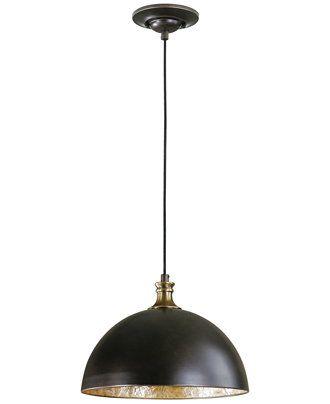 Uttermost placuna 1 light bronze pendant lighting s