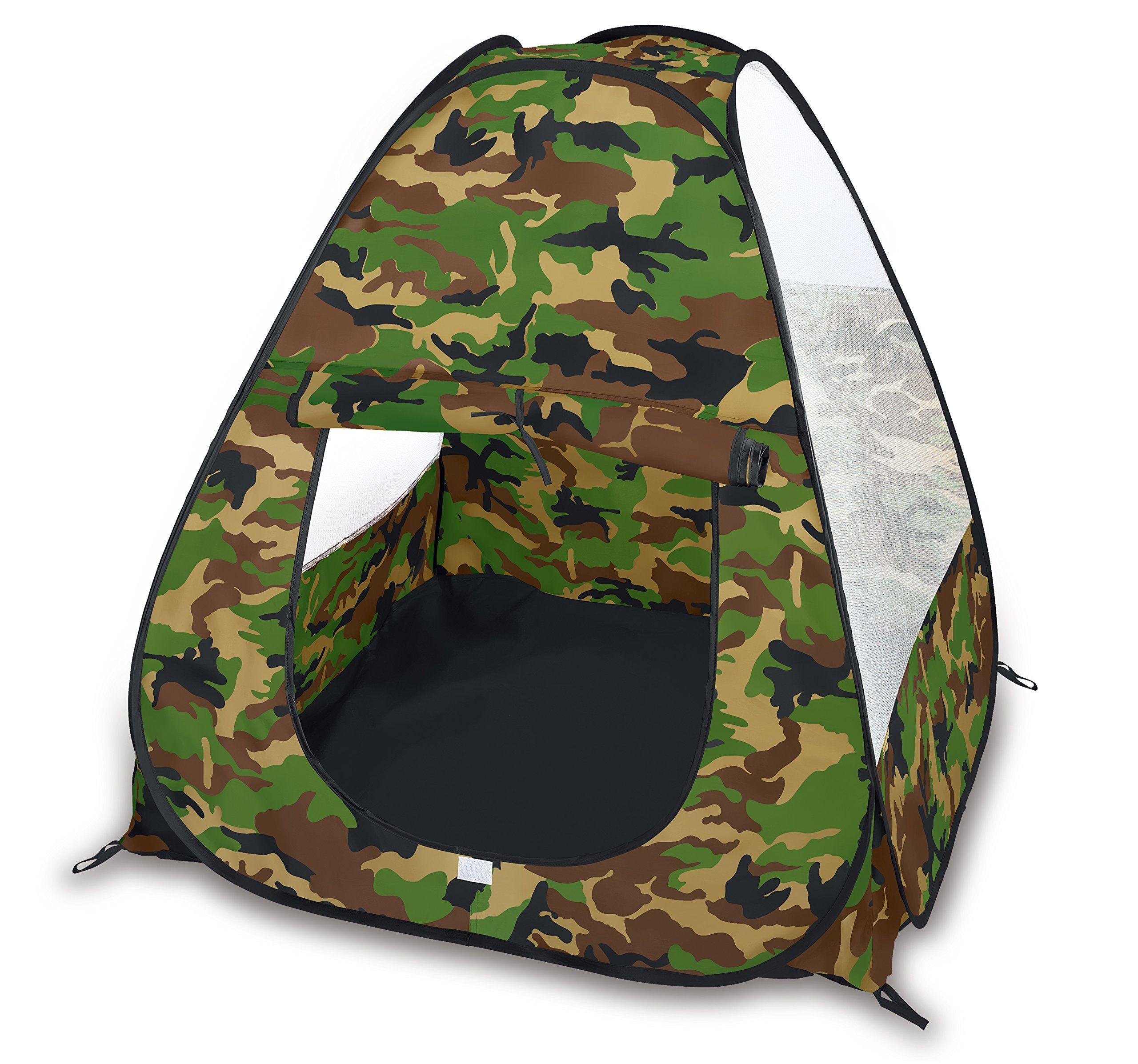 Camouflage Military Pop Up Play Tent Collapsible Indoor Outdoor Army Playhouse For Kids Collapsible Camouflage Pop Up P Pop Up Play Play Tent Kids Playhouse