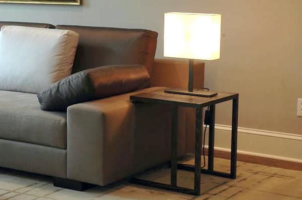 Simple Shape Moderndesign Modern Side Table Whitedesign White Livingroomdesign Living Room See More At Coffeeandsidetables