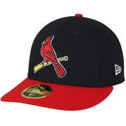 competitive price 46b8b 4b263 Men s St. Louis Cardinals New Era Navy Red Alternate 2 Authentic Collection  On-Field Low Profile 59FIFTY Fitted Hat