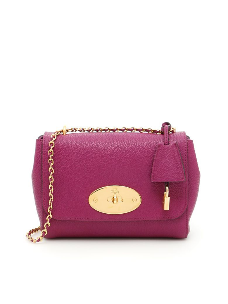 8b071abe6b8a MULBERRY Classic Grain Small Lily Bag.  mulberry  bags  lining  accessories   shoulder bags  charm  suede  hand bags