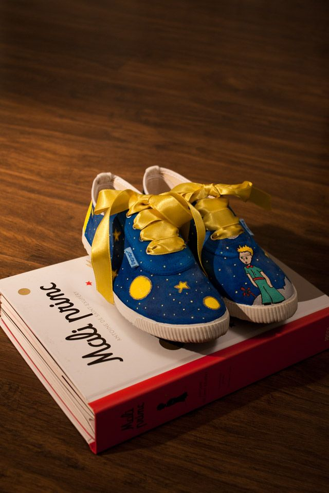 The Prince Sneakerslt;3 Custom Petit For Made Little Le fvYyb6g7