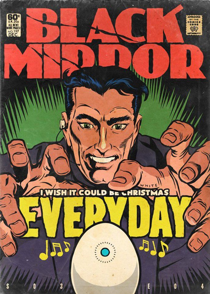 More 'Black Mirror' episodes turned into Golden Age comic
