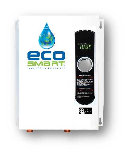 EcoSmart ECO 11 Electric Tankless Water Heater, 13KW at