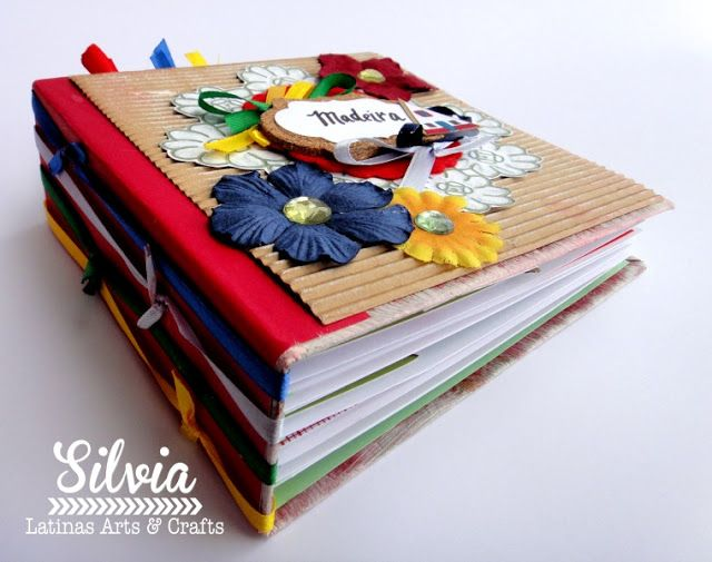 Silvia Scrap: Tutorial 56 en Latinas Arts & Crafts. Un Mini album con Rocio Cano
