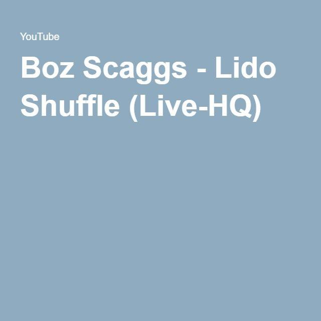Boz Scaggs - Lido Shuffle (Live-HQ)