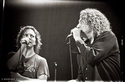 Eddie Vedder & Robert Plant