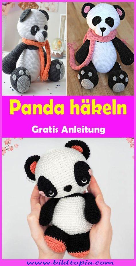 Photo of Crochet Amigurumi Panda – Kostenlose und einfache Anleitung – Mein Blog