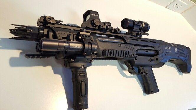 My newest toy  DP12 Double Barrel 12 Gauge Tactical Shotgun