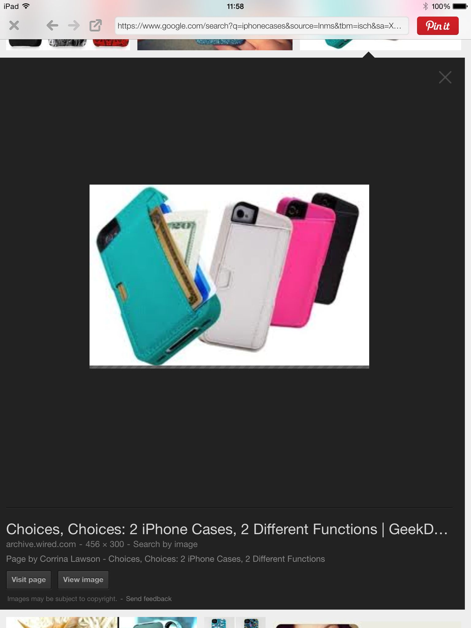 This is a purse case for iPhone!