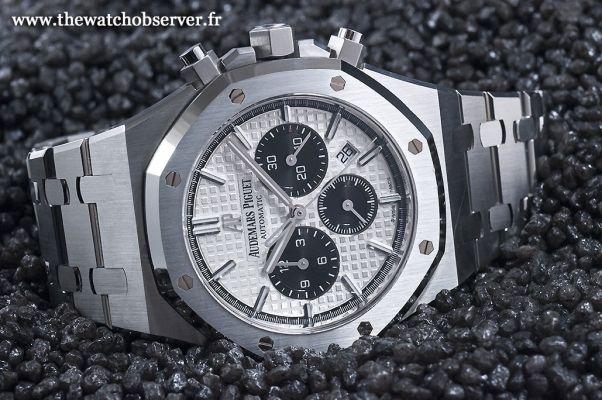 grande vente 2d176 f454d Royal Oak Chronographe acier réf. 26331 - The Watch Observer ...