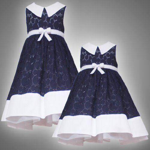 Nautical Print Dresses Nautical Resort Special Occasion Girl