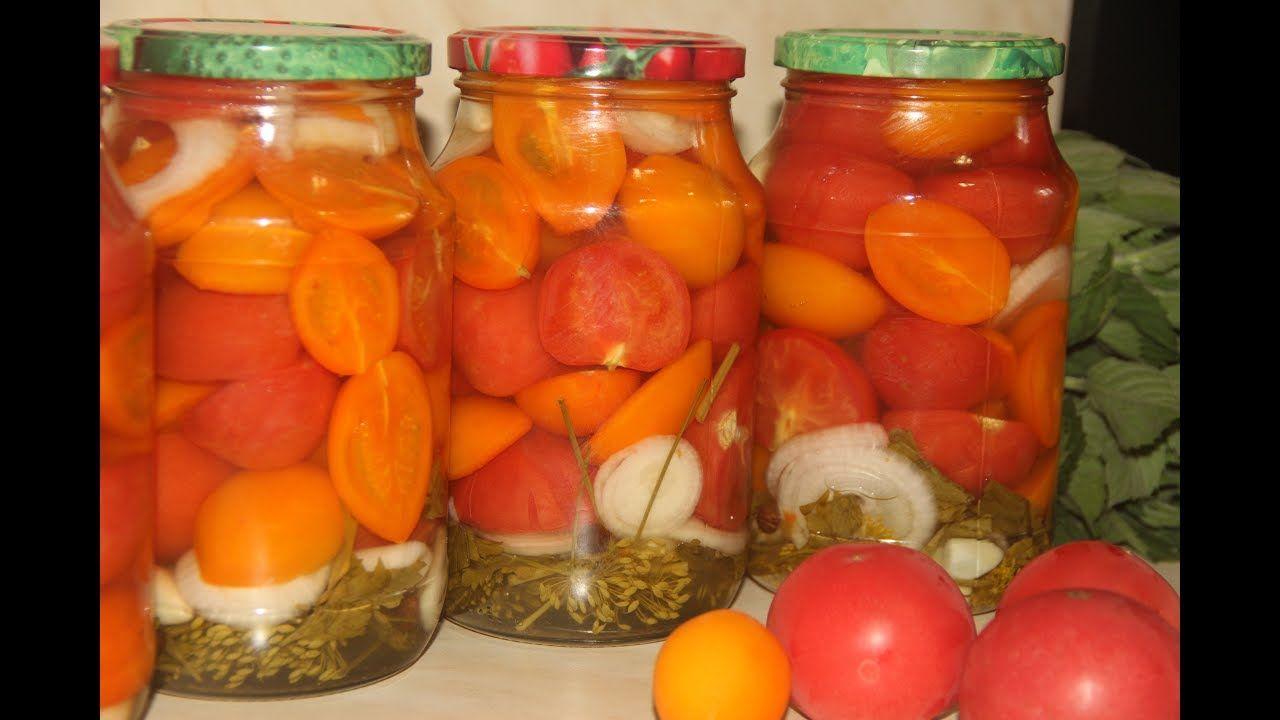 заготовка из помидор на зиму простые рецепты