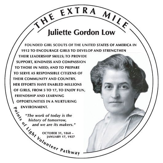 Juliette Gordon Low October 31 1860 January 17 1927 Was The