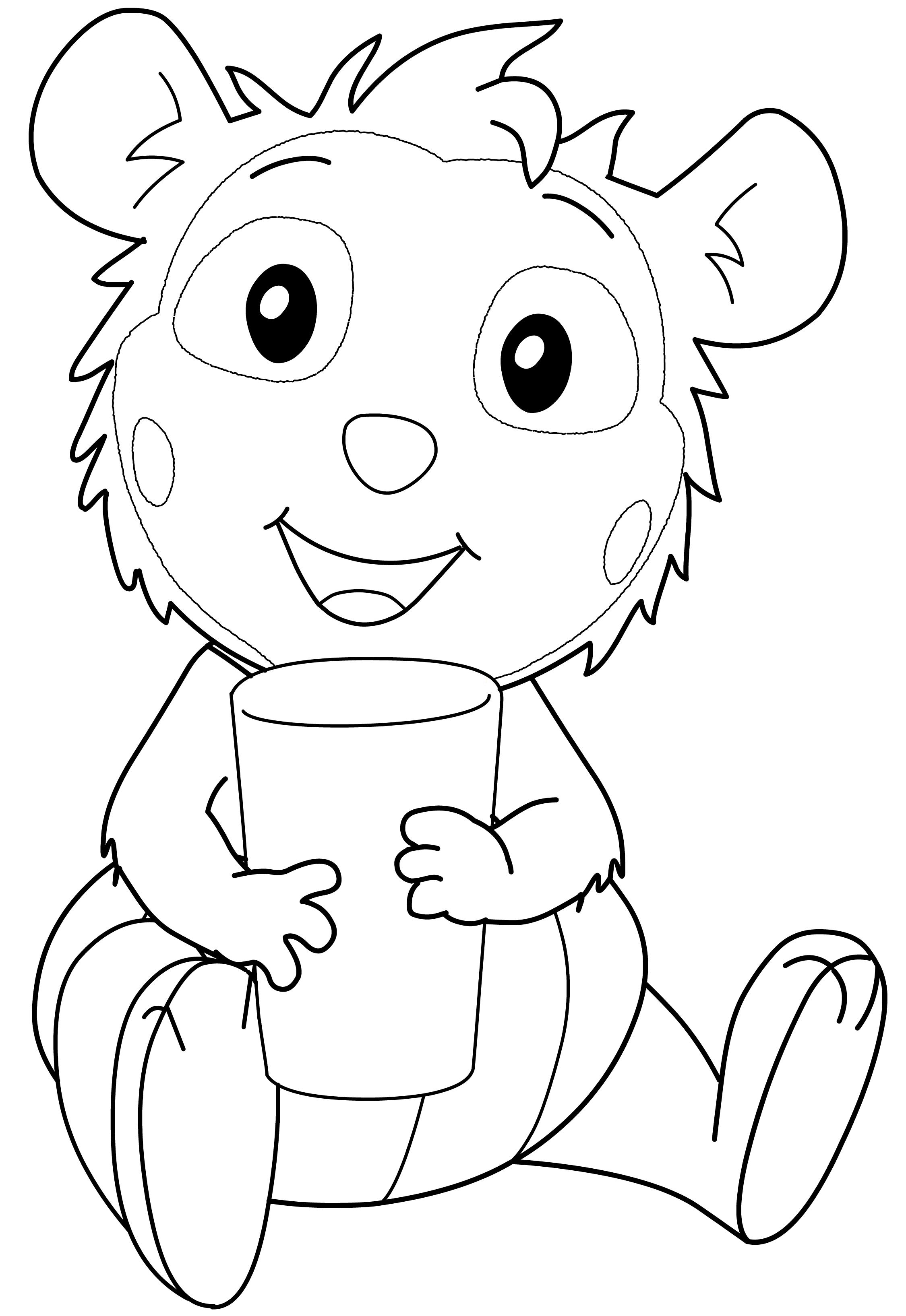 Malvorlage Bobo Siebenschlafer Food Ideas In 2021 Bobo Mario Characters Hello Kitty
