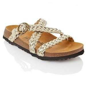 e980fa1277254 Betula Betula Braided Crossover Strap Sandal with Buckle at HSN.com ...
