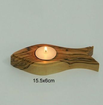 Image result for wooden candle holder