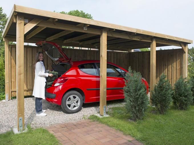 Fertiges Carport Carport Selber Bauen Anbau Haus Carport Bauen