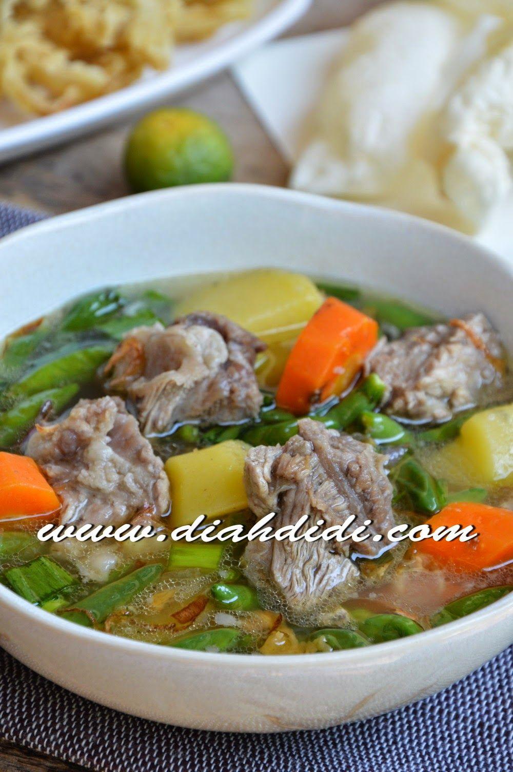 Sup Iga Pedas Ala Sop Janda Resep Masakan Resep Masakan Sehat Masakan