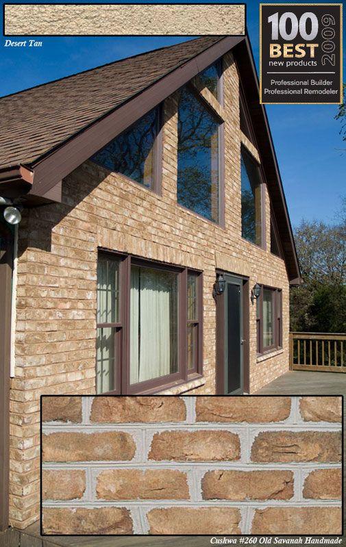 Tru brix real brick siding cladding veneer home for What is brick veneer siding