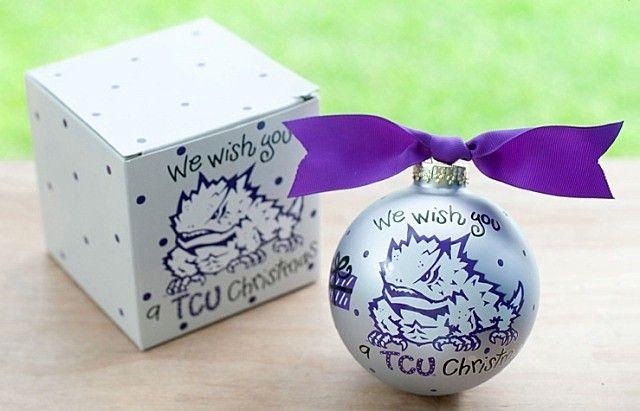 tcu christmas ornaments - Google Search - Tcu Christmas Ornaments - Google Search TCU HORNED FROGS