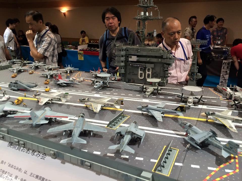 超震撼,日本静冈模型展 展出的1/72 尼米兹航母!兵人在线 - Powered ...