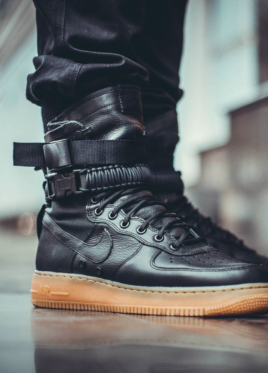best sneakers 7e804 411e8 Nike Special Field Air Force 1 - Black Gum - 2016 (by sneaker fanatix)