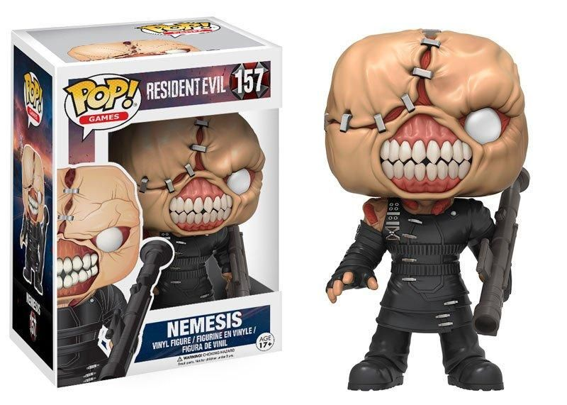 FUNKO POP! GAMES:, RESIDENT EVIL - THE NEMESIS (VFIG)