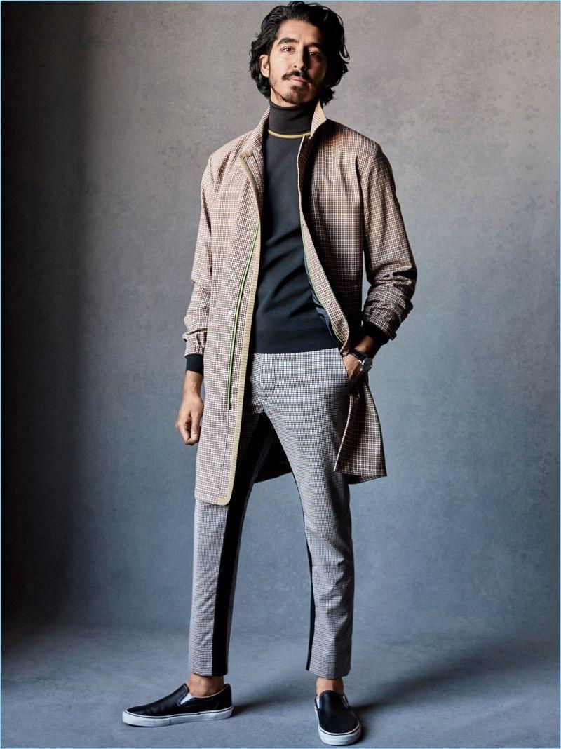Dev Patel Steps Into Spring With Gq Fashion Shoot