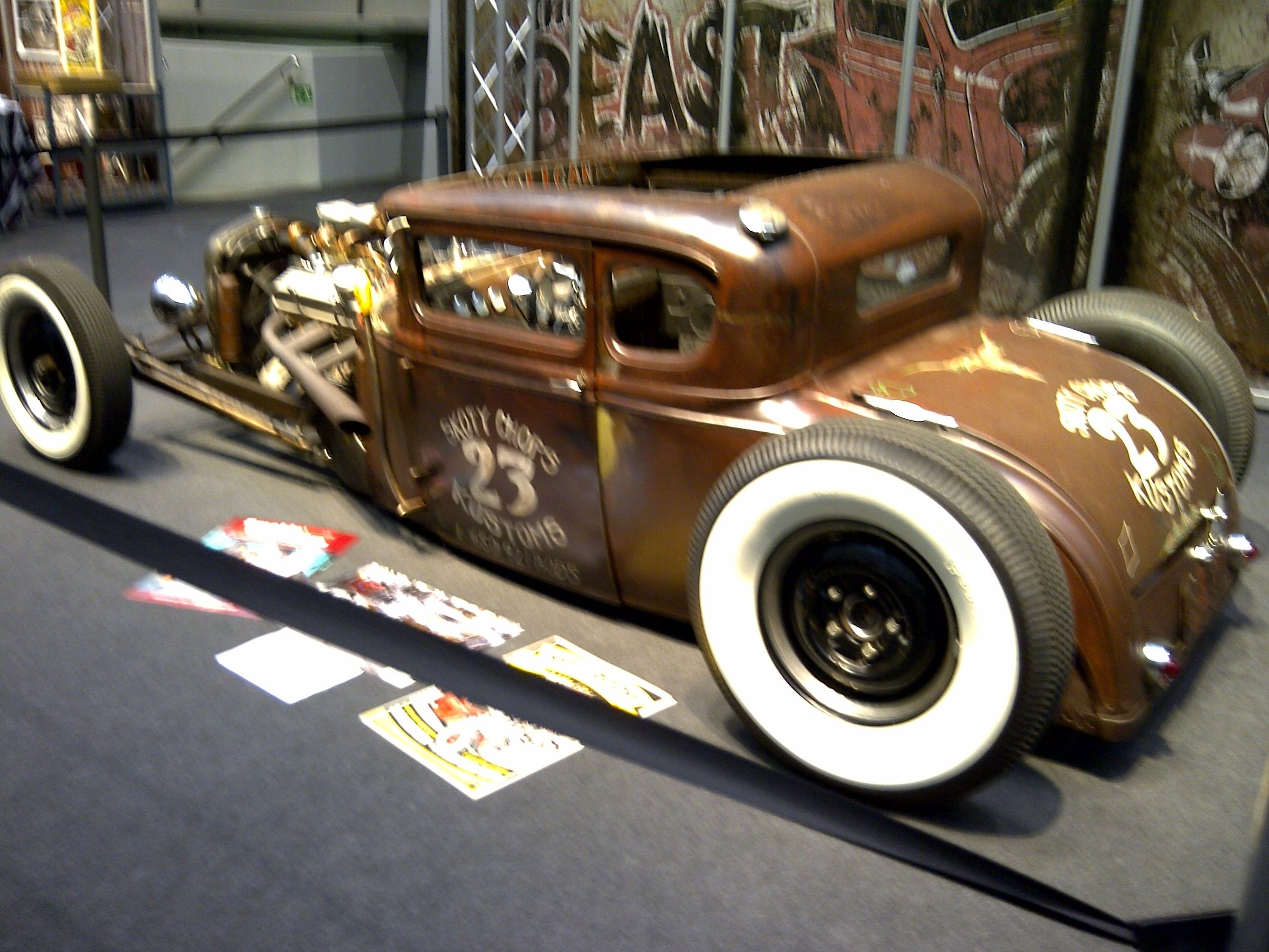 Nice Rat Rod @ Motorshow Essen | Ratrods | Pinterest | Rats, Cars ...