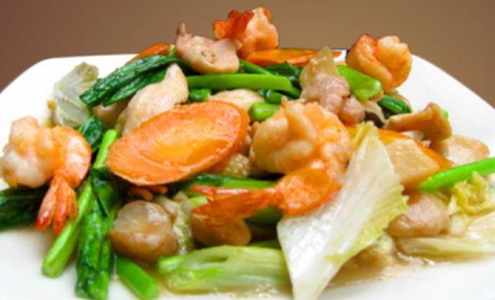 Cara Sederhana Membuat Resep Capcay Goreng Seafood Enak Resep Masakan Resep Masakan Indonesia Masakan Indonesia