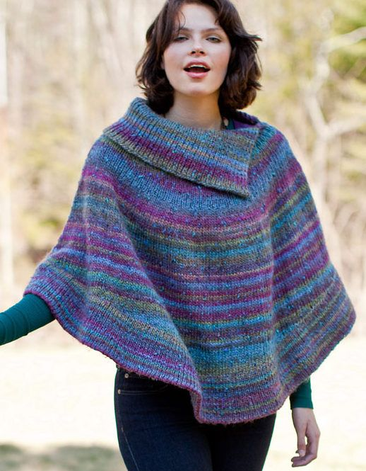 Knitted Poncho Patterns With Video Tutorial For Beginners Advanced ...