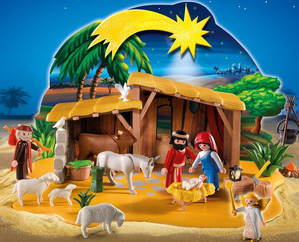 ad697613916 Playmobil - 4884 - Jeu de construction - Grande crèche  Amazon.fr  Jeux et  Jouets