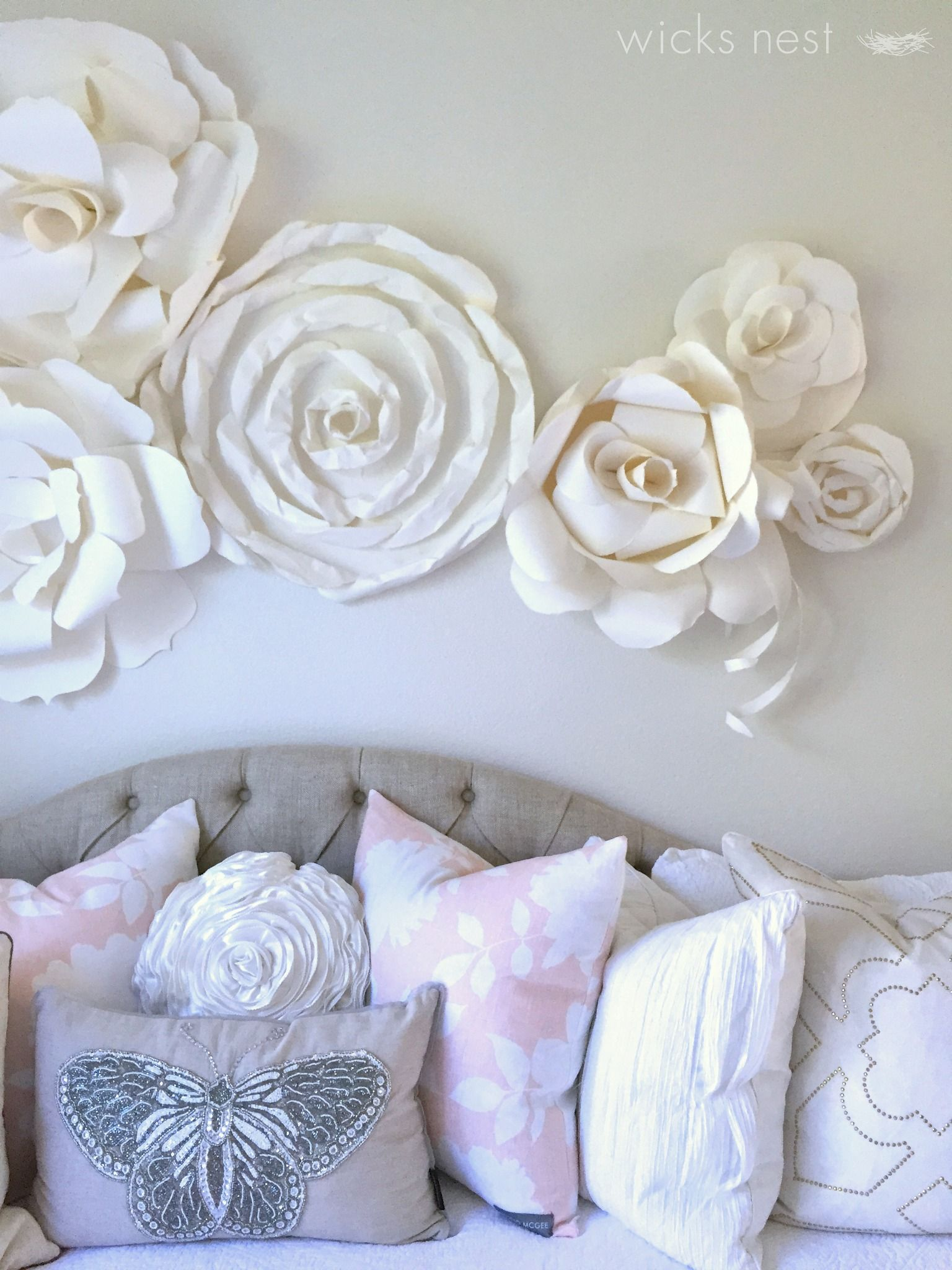 Mix and match pillows to create a bedscape that is ohso