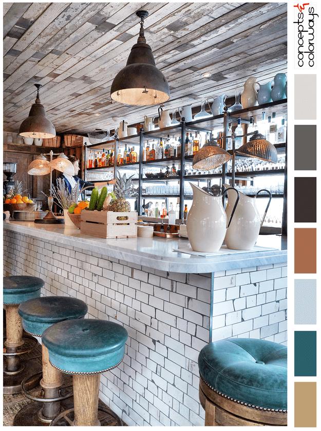 White Kitchen Dining Room Subway Tiles