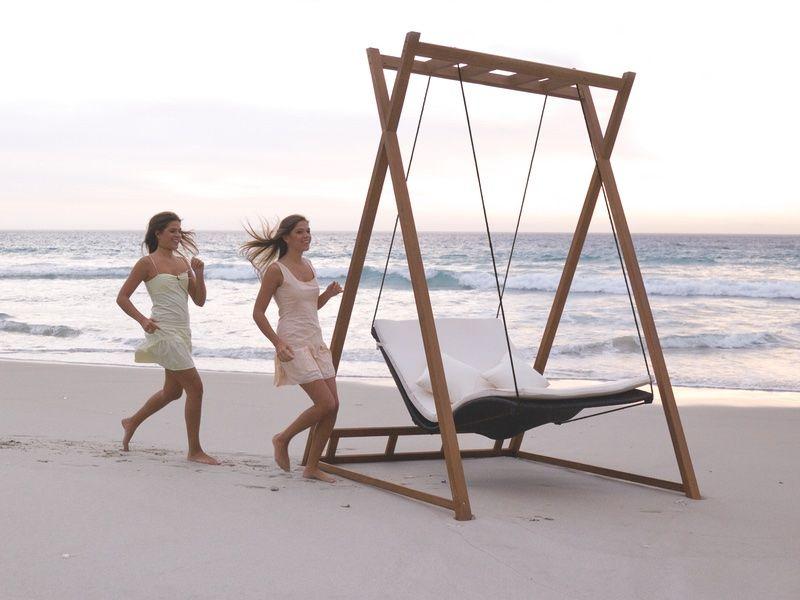 Fantastisch Gartenschaukel MBM «Heaven Swing» Doppelschaukel Inkl. Gestell |  Loungemöbel Rattan Shop