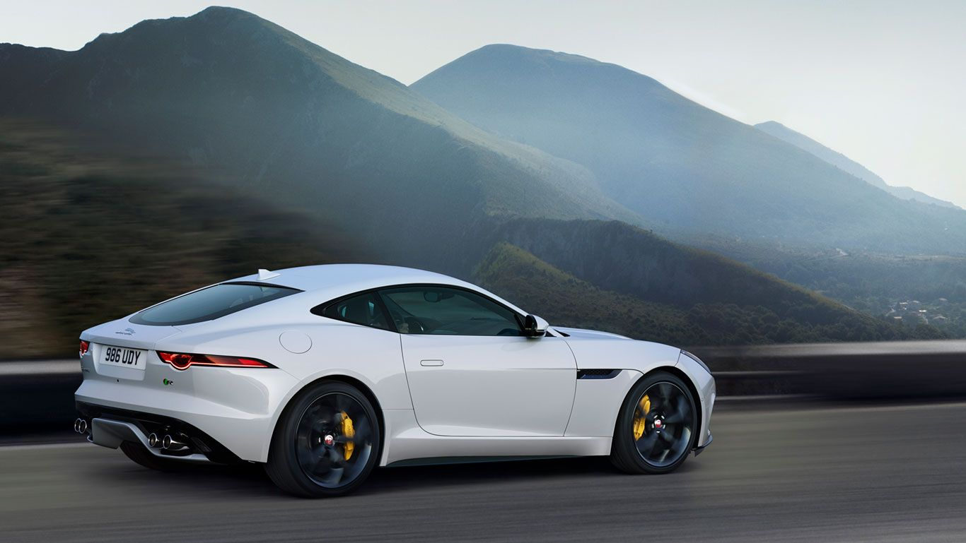 The F Type R In Yulong White With Optional Features Fitted Jaguar F Type Jaguar Coupe Super Cars