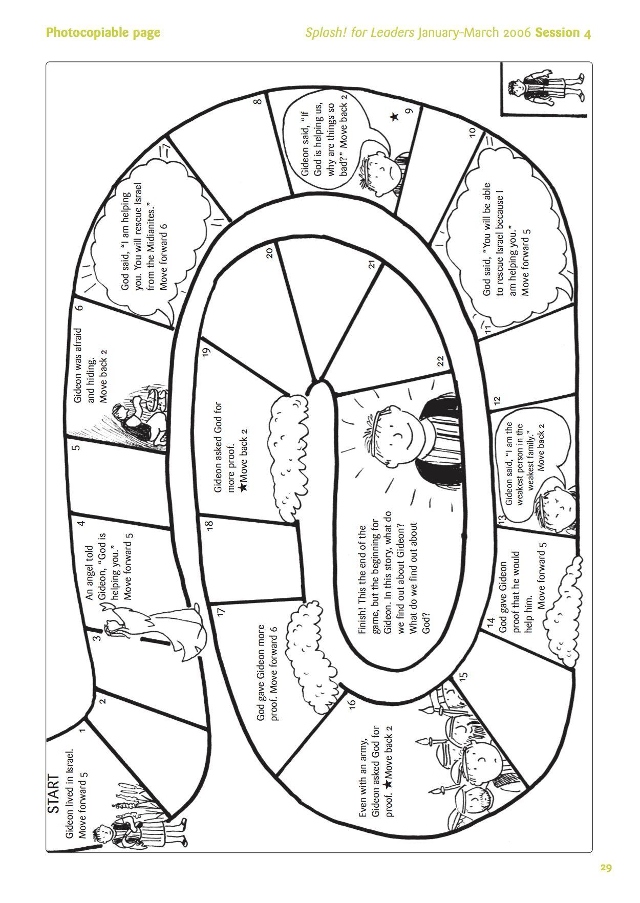 gideon board game full focus 2015 pinterest board gaming and sunday school. Black Bedroom Furniture Sets. Home Design Ideas