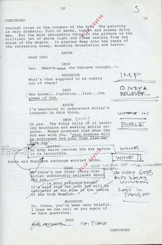 10 Famous Film Scripts And What You Can Learn From Them Harrison Ford Film Script Movie Scripts