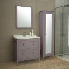 Meuble De Salle De Bains De 80 A 99 Brun Marron Ashley Master Bathroom Design Small Bathroom Bathroom Design