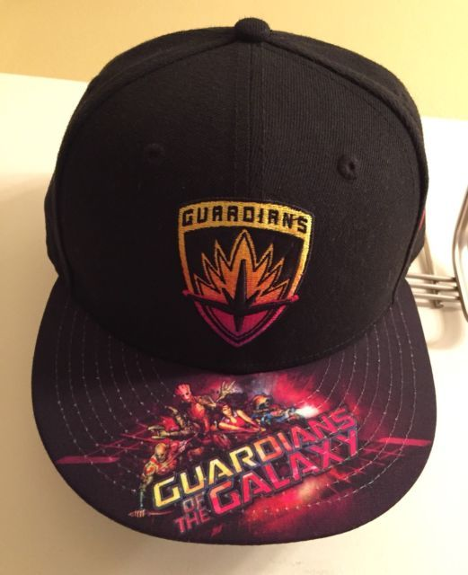competitive price 28502 3df81 ... denmark new era9 fifty hat osfa guardians of the galaxy airbrushed snapback  cap marvel ebay 65f94