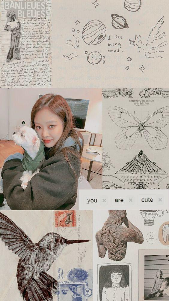 Pin de 𝐜𝐡𝐚𝐫𝐥𝐢𝐞 em aesthetic tingz | Jennie blackpink, Vaporwave anime, Papel de parede kpop